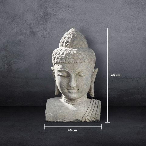 Großer Buddha-Kopf