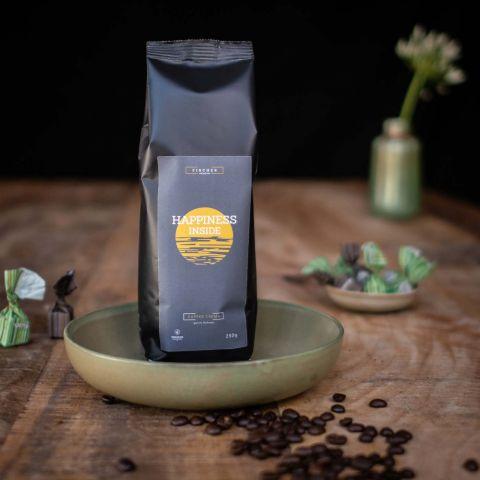 FISCHER Kaffee Crema Klassik - 250g ganze Bohnen