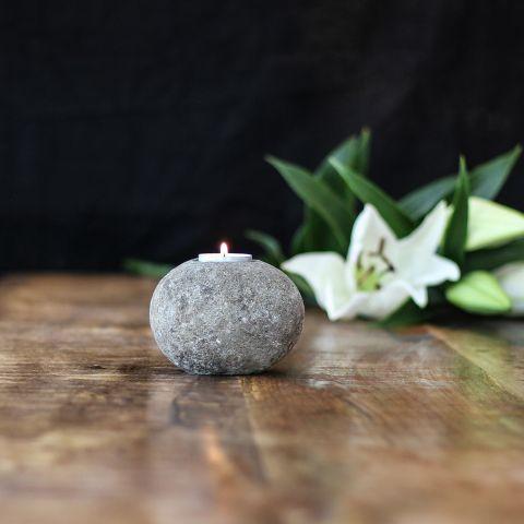 Teelicht Stein Bali