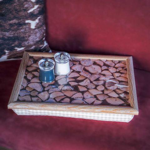 Knietablett Holz