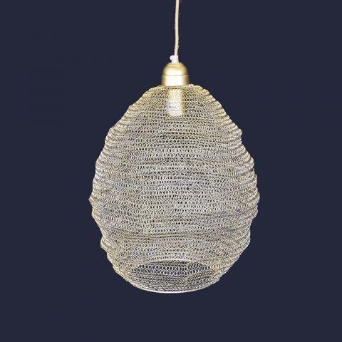 Lampe Nina Gaze hellgold