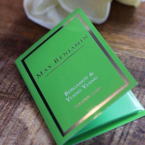 Duft Card Bergamot Ylang Ylang Duftkarte