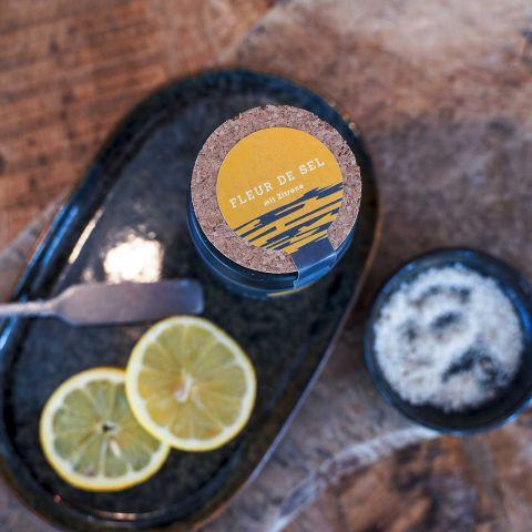 FISCHER Salz mit Zitronennote
