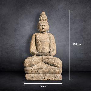 Großer Buddha - 80cm x 155cm