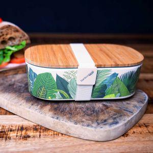 Lunchbox mit Holzdeckel
