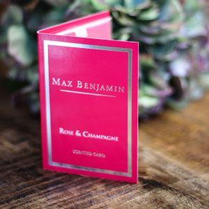 Duft Card Rose & Champagner Duftkarte