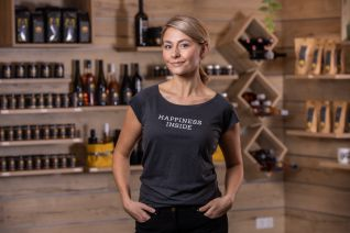 FISCHER Damen T-Shirt, grau L