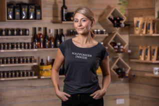 FISCHER Damen T-Shirt, grau M
