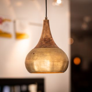 Saida Bronze/Holz